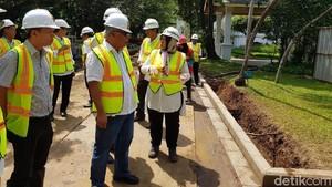Perbaikan Drainase di Kompleks Istana Rampung 31 Desember