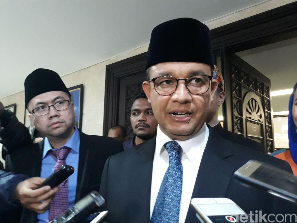 Gubernur DKI Anies Baswedan.