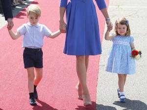 Ini Dia Alasan Pangeran George Selalu Pakai Celana Pendek