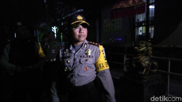 Polisi di Lapas Kerobokan