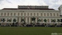Gedung Berhantu di Kompleks Kementerian Keuangan akan Direnovasi