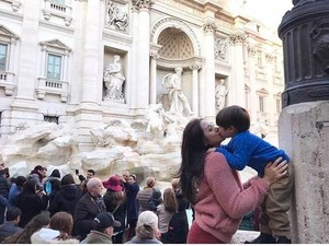 Tanpa Pengasuh, Jessica Iskandar Ajak El Barack Liburan Natal ke Roma