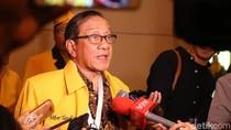 Akbar Tandjung Bersyukur Jika Airlangga Jadi Cawapres Jokowi