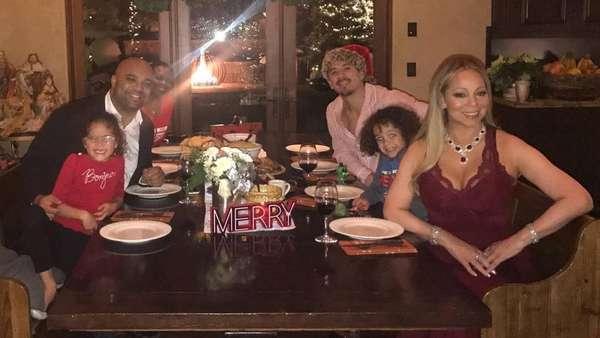 Cara Para Selebriti Dunia Rayakan Natal