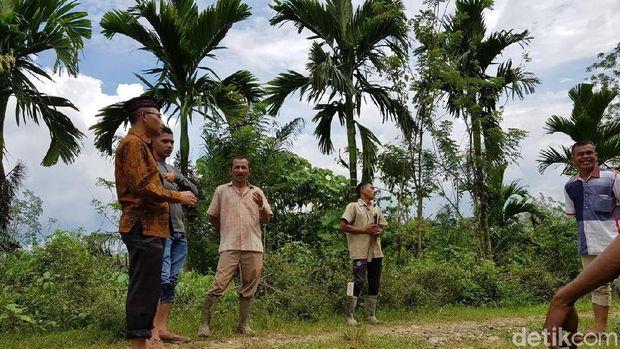 Kondisi Jalan Menuju Makam Cut Meutia di Aceh Utara Memprihatinkan