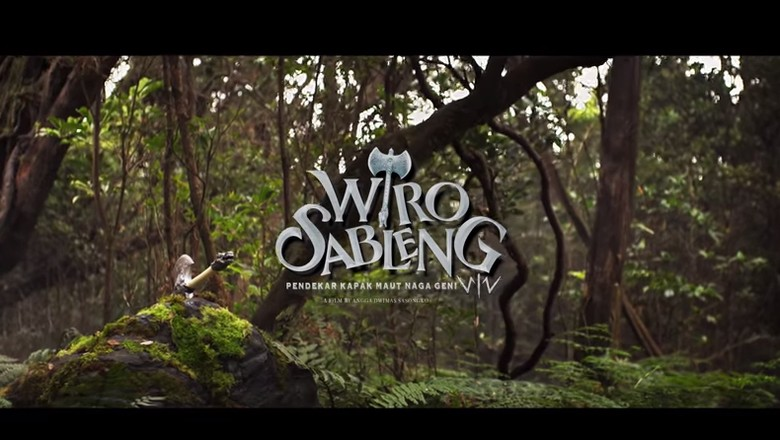 Aksi Wiro Sableng Bertarung dengan Sinto Gendeng di Teaser Trailer
