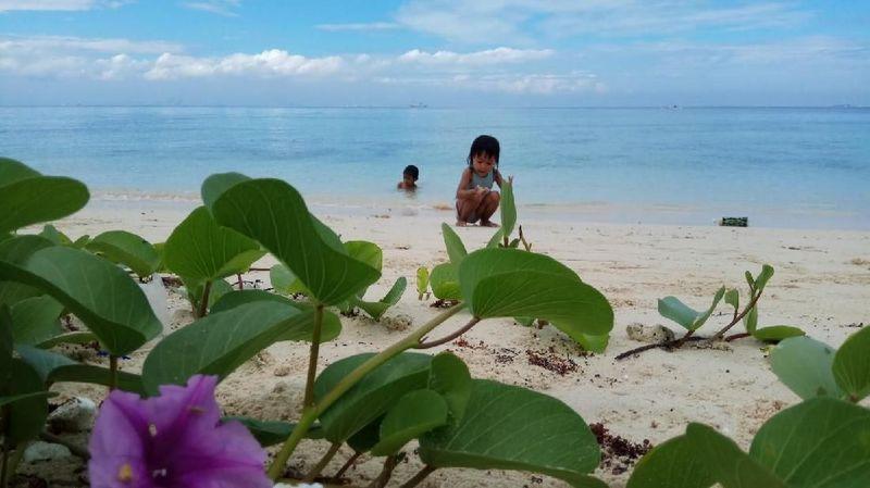 Foto: Pulau wisata ini berada di Desa Mattiro Sompe, Kecamatan Liukang Tupabiring, Kabupaten Pangkajene dan Kepulauan (Pangkep), Sulawesi Selatan. (Moehammad Bakrie/detikTravel)