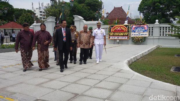 Gubernur DIY meresmikan pintu gerbang kantor gubernur