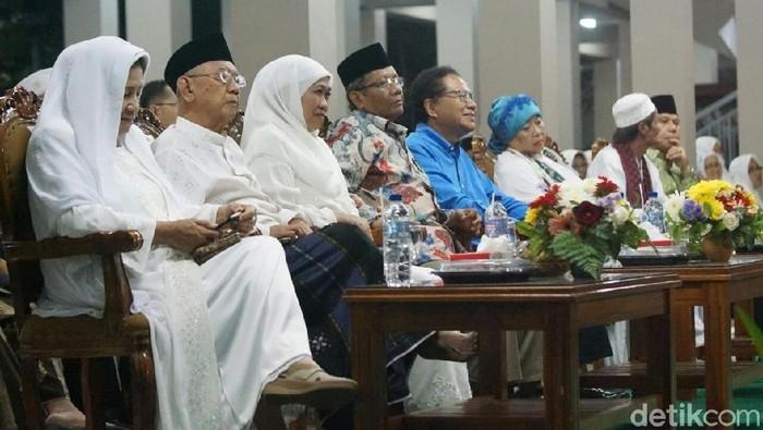 Khofifah, Mahfud, dan Rizal Ramli Hadiri Haul Gus Dur di Tebuireng