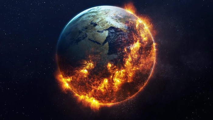Apakah Bumi akan mengalami masa depan yang mengerikan seperti ini? Foto: Internet