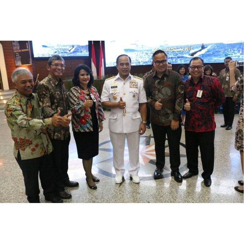 Bank Mandiri & TNI AL Tanda Tangani MoU Soal Pengelolaan APBN