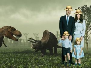 Foto Natal Keluarga Pangeran William Diedit, Jadi Seperti Apa Ya?