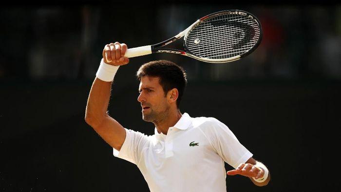 Novak Djokovic akan kembali mengayun raket akhir pekan ini di Mubadala World Tennis Championship (Foto: Julian Finney/Getty Images)