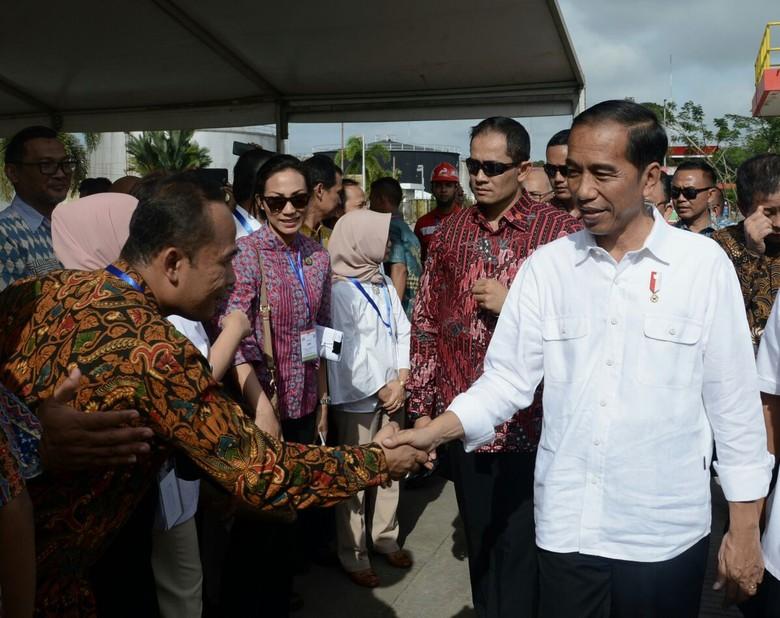 Jokowi Perintahkan Pemda Pantau Asmat dan Kawasan Gizi Buruk