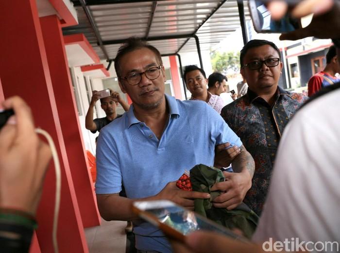 Tio Pakusadewo saat ditemui di RS Bhayangkari, Lebak Bulus.