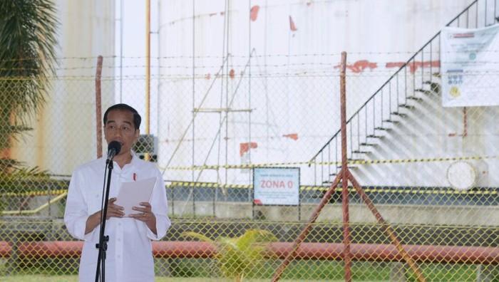 Presiden Jokowi (Pool/Kris/Biro Pers Setpres)