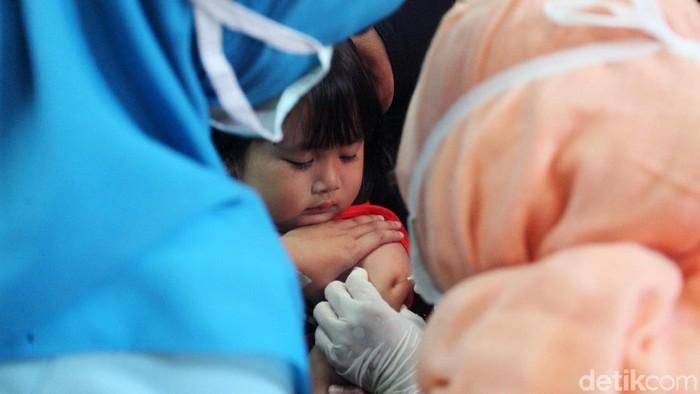 Banyak pertimbangan yang membuat vaksin MR akhirnya berstatus mubah. Foto: Lamhot Aritonang