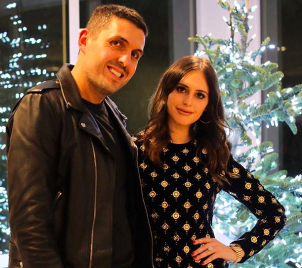 Alexa Dell adalah putri Michael Dell, pemilik vendor teknologi Dell. Ini bersama sang pacar, Harrison Refoua. Foto: Instagram