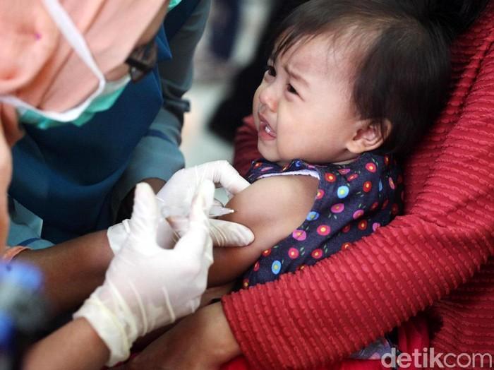 Ilustrasi imunisasi difteri/Foto: Lamhot Aritonang