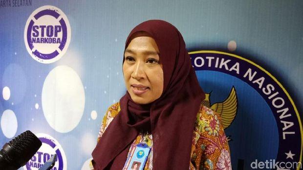 Kepala Seksi Rehabilitasi BNNK Jaksel, Kompol Dessi Wijayanti