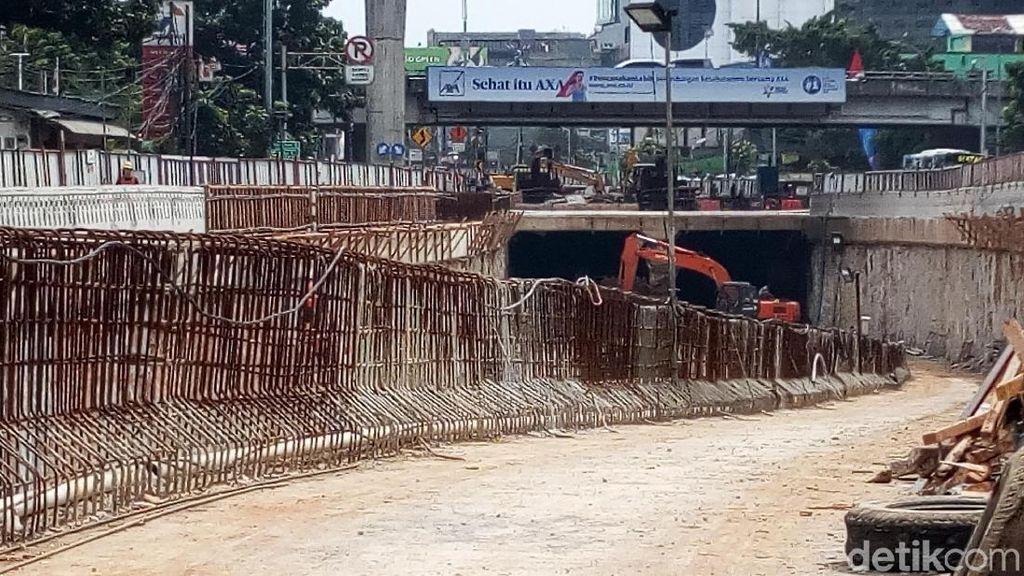 Underpass Mampang-Kuningan Bisa Dipakai Dua Bulan Lagi