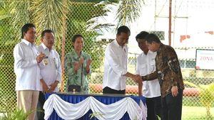 Jokowi Resmikan 17 Titik Penyalur BBM Satu Harga di Pontianak