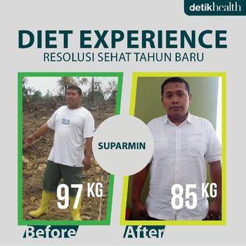Salah seorang kontestan Diet Experience edisi Tahun Baru