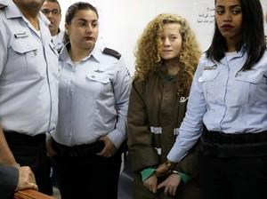 Israel Perpanjang Masa Tahanan ABG Palestina yang Tampar Tentaranya