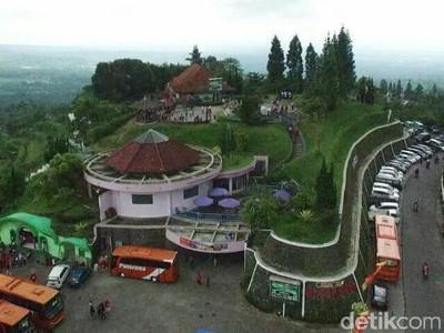Seribu Laser di Ketep Pass Magelang Akan Sambut Tahun Baru 2018