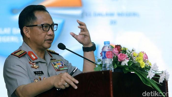 Kapolri Jenderal Tito Karnavian (Agung Pambudhy/detikcom)