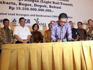 Bank Mega Jadi Salah Satu Bank Sindikasi Pembiayaan Proyek LRT