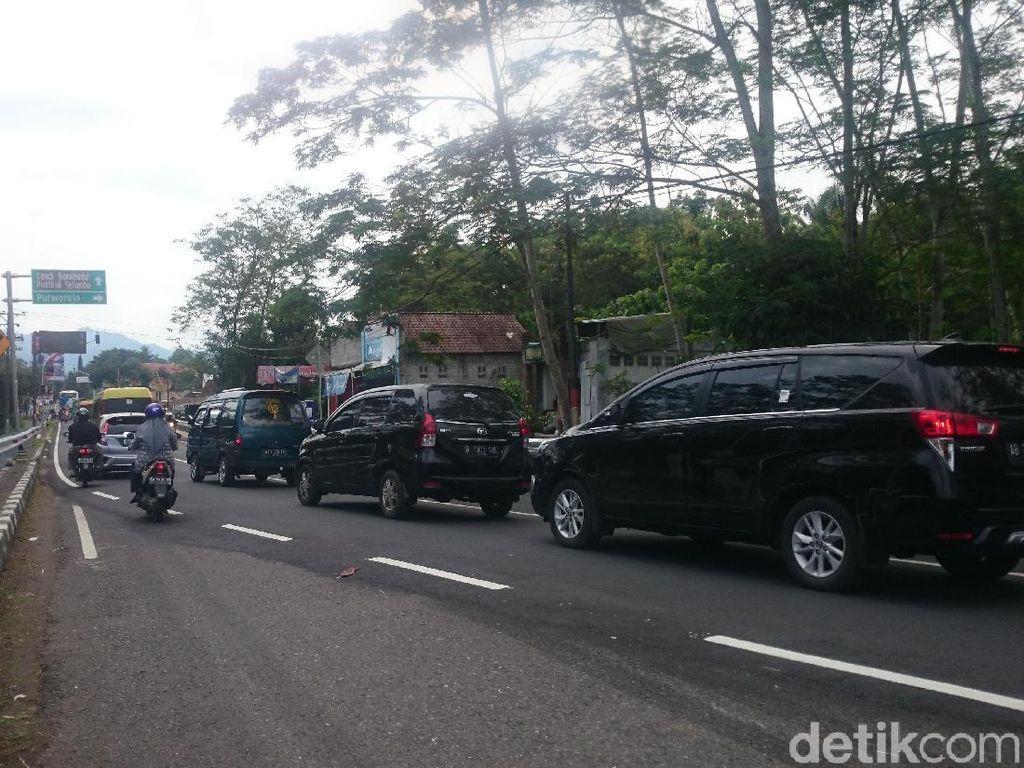 Lalin ke Candi Borobudur Padat, Polres Magelang Berlakukan Rekayasa