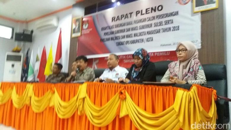 Pasangan Danny-Indira Lolos Maju Peseorangan di Pilwalkot Makassar