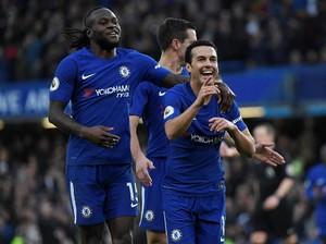 Ngebut, Chelsea Ungguli Stoke 3-0 di Babak Pertama