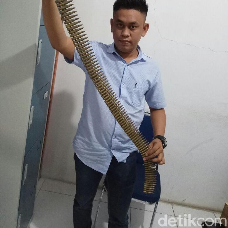 Polisi Masih Selidiki Motif Penyelundupan 97 Peluru di Makassar