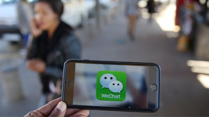 Ilustrasi WeChat