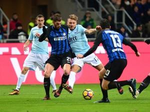 Inter Seri 0-0 dengan Lazio