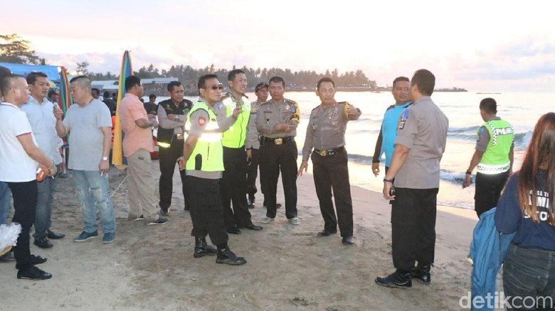 Jelang Pergantian Tahun, Kapolda Banten Cek Keamanan Pantai Anyer
