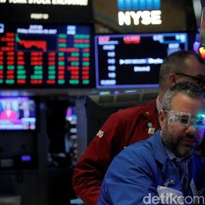 Perang Dagang Memanas, Bursa Saham AS Anjlok