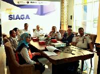 Menteri Perhubungan Budi Karya Sumadi bersama jajaran direksi Jasa Marga (Foto: Jasa Marga)