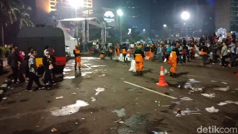 Kadis LH: Sampah Tahun Baru 2018 di Jakarta 790 Ton
