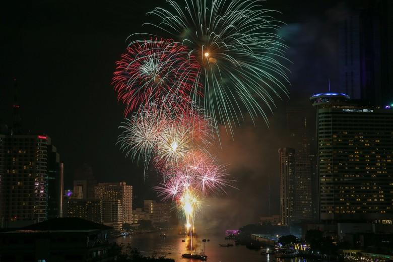 Ilustrasi malam tahun baru. Foto: Reuters