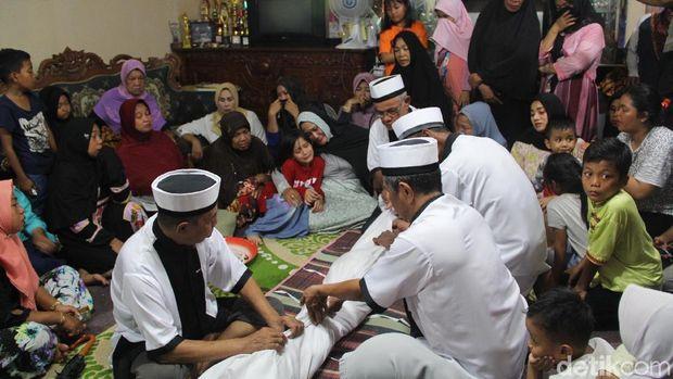 Jasad Habsi Korban Kapal Terbalik di Tarakan Tiba di Rumah Duka