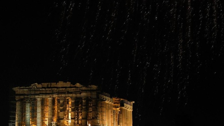 Ilustrasi kembang api (Reuters)