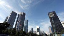 Langit Biru Hiasi Kota Jakarta di Awal Tahun 2018
