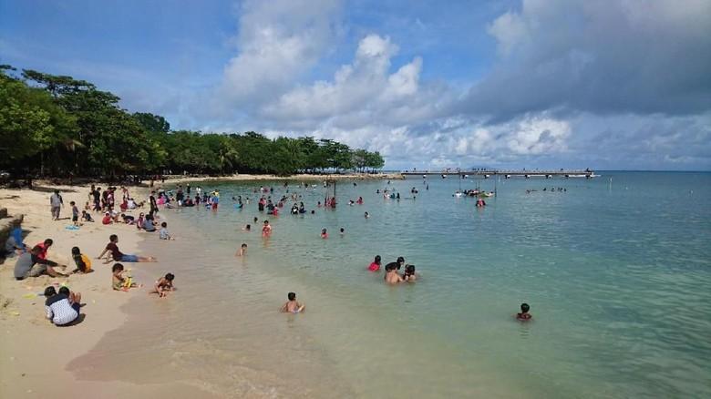 40 Koleksi foto pemandangan pantai tanjung lesung HD Terbaik