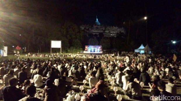 Peserta Borobudur Nite 2017