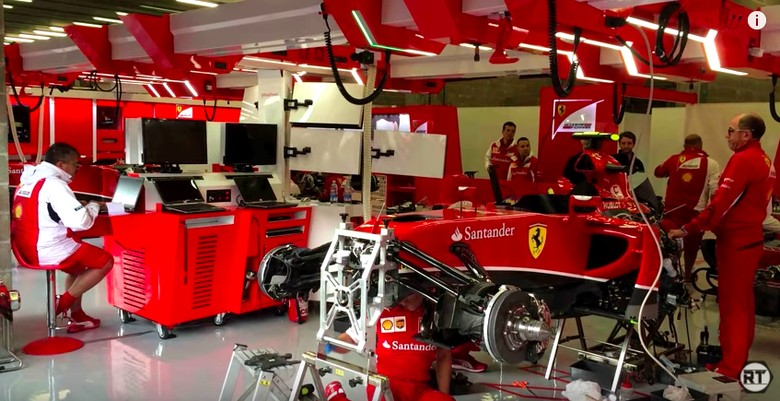 Ilustrasi mobil F1. Foto: Screenshot Youtube RacerThoughts