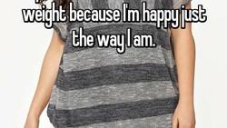 Tidak semua orang tertarik untuk menurunkan berat badan. Sebuah aplikasi Whisper mengungkap beragam alasan jujur yang disampaikan para penggunanya.
