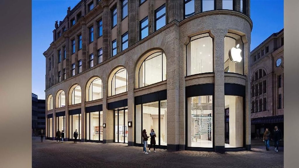 Apple Store Dijarah Saat Demo Rompi Kuning di Prancis